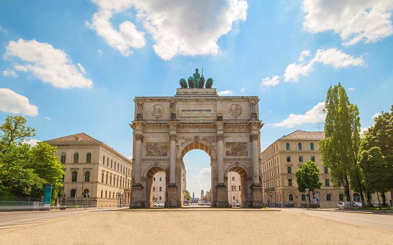 Portão de Brandemburgo em Berlim na Alemanha
