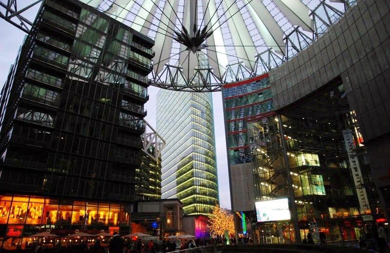 Atrações da Potsdamer Platz