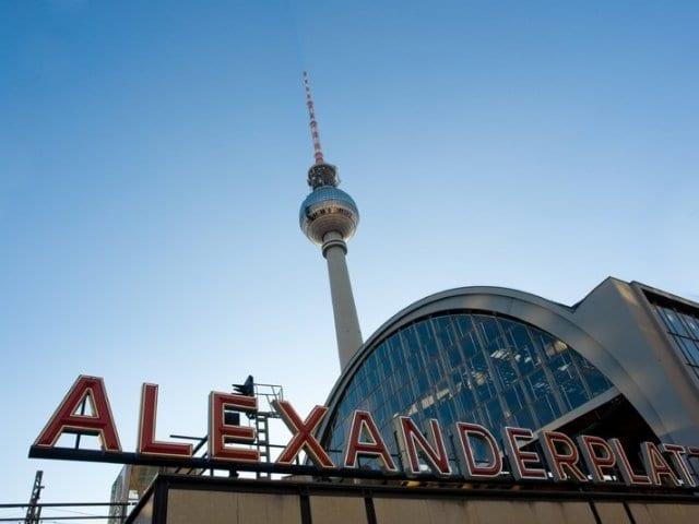 Torre Berliner Fernsehturm em Berlim