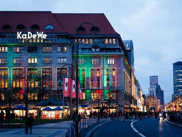 Compras na Avenida Kurfürstendamm em Berlim