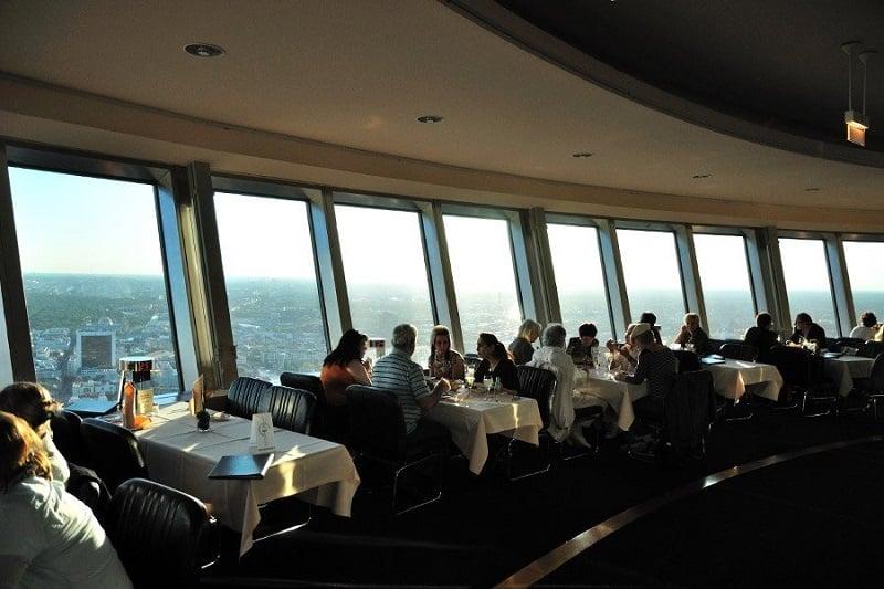 Restaurante da Torre Berliner Fernsehturm