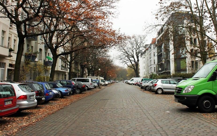 Bairro de Charlottenburg em Berlim