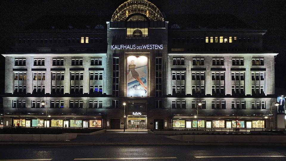 Loja de departamentos em Berlim