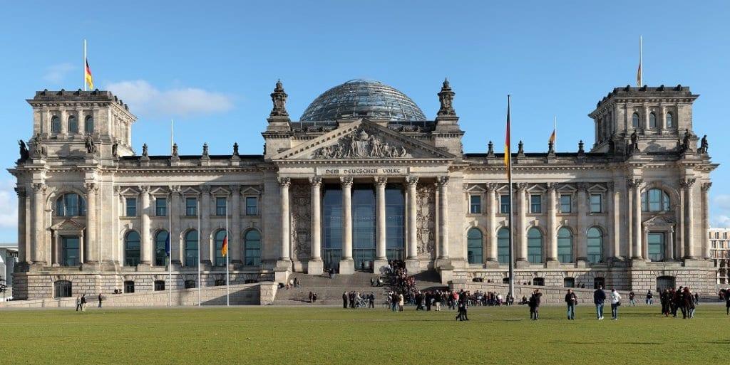 Palácio de Reichstag em Berlim