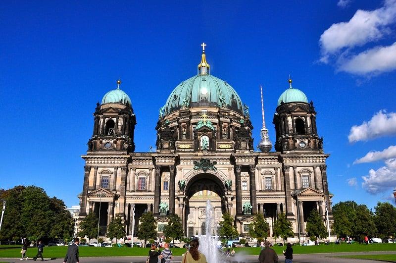Visita à Catedral Berliner Dom