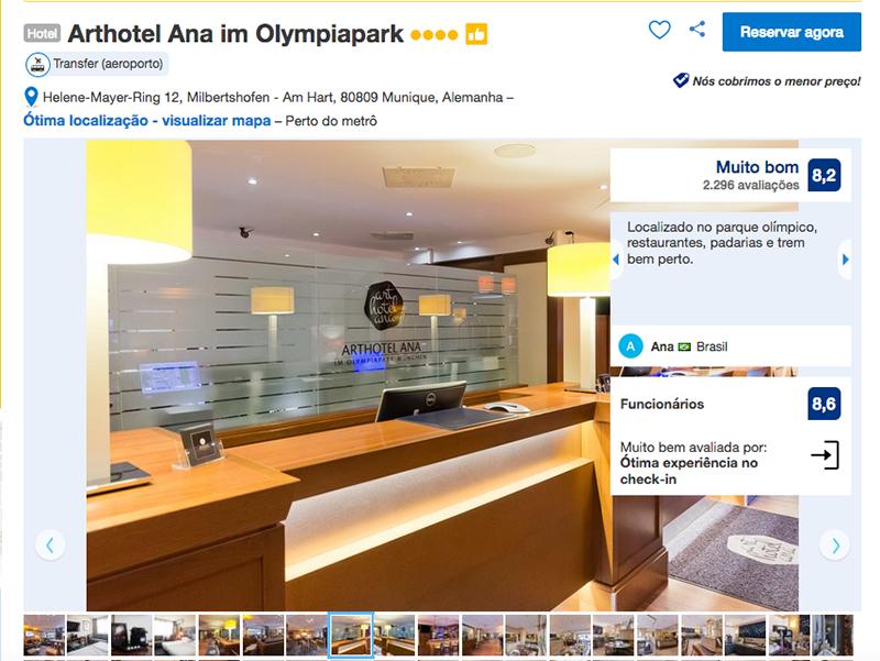 Hotel Arthotel Ana im Olympiapark em Munique