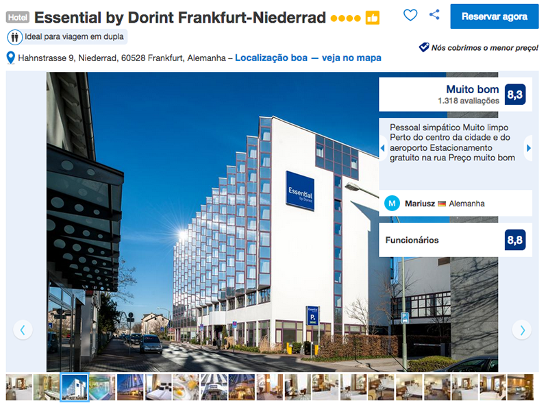 Hotel Essential by Dorint em Frankfurt