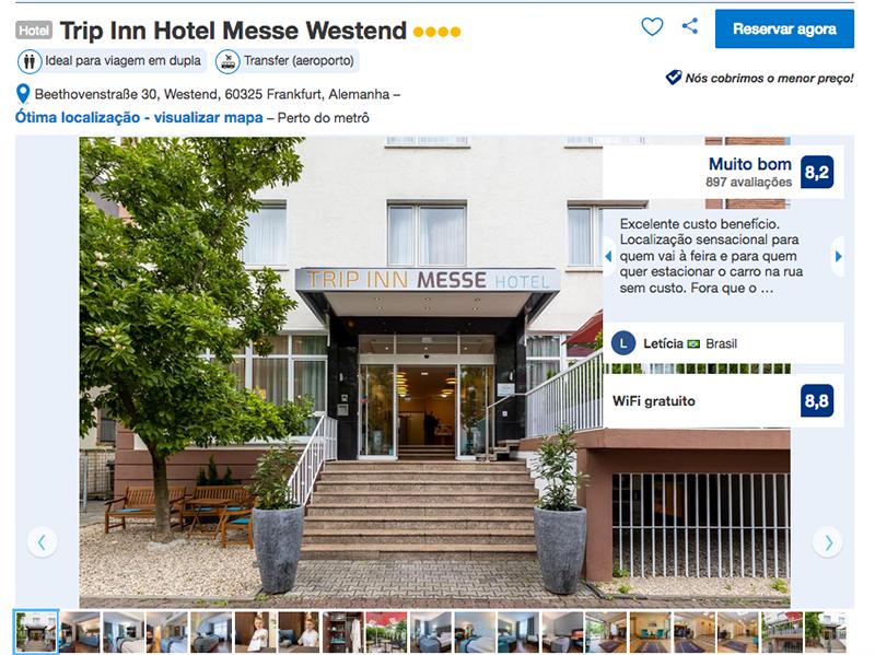 Trip Inn Hotel Messe Westend em Frakfurt
