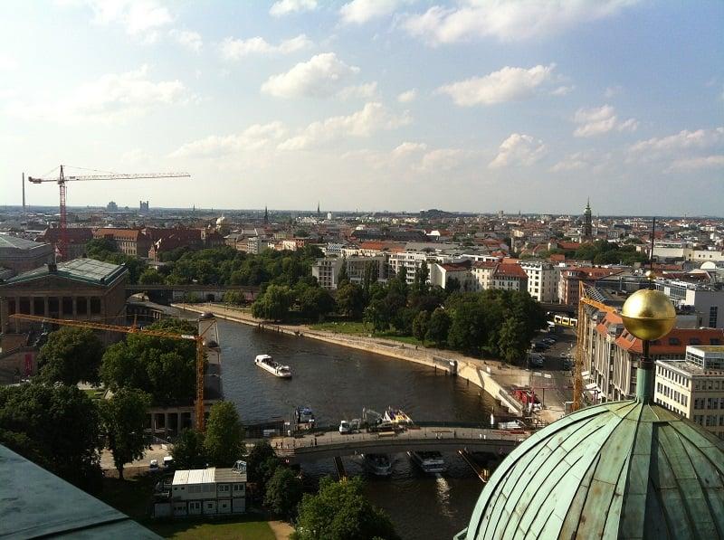 Cúpula e vista da Catedral de Berlim