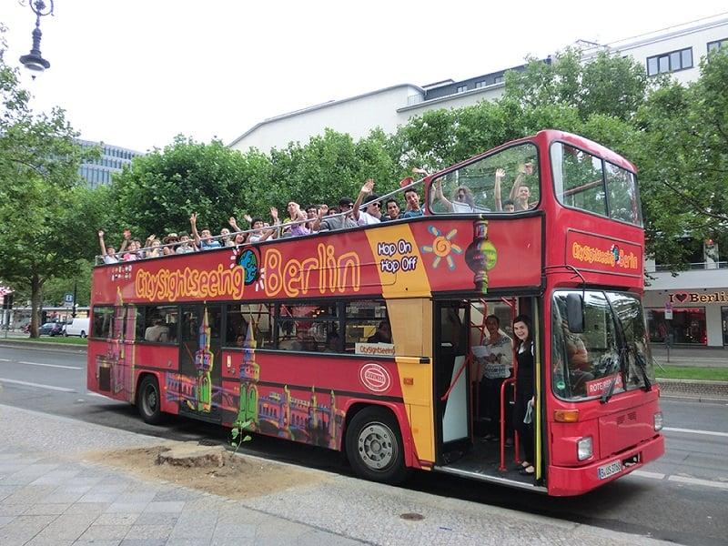 Ônibus Hop On Hop Off em Berlim