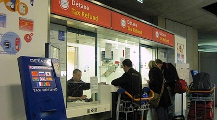 Devolução do imposto no aeroporto