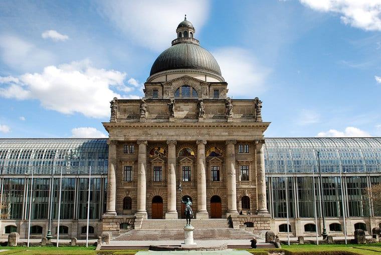Estação Central em Munique
