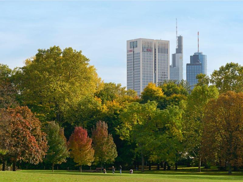 Grüneburgpark em Frankfurt