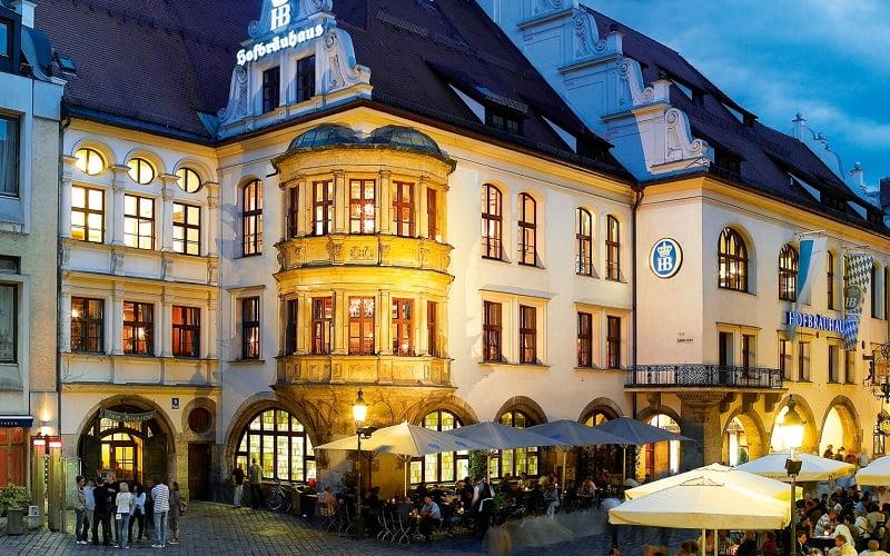 Cervejaria Hofbrauhaus em Munique