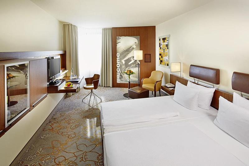 Suíte do Hotel Essential by Dorint em Frankfurt
