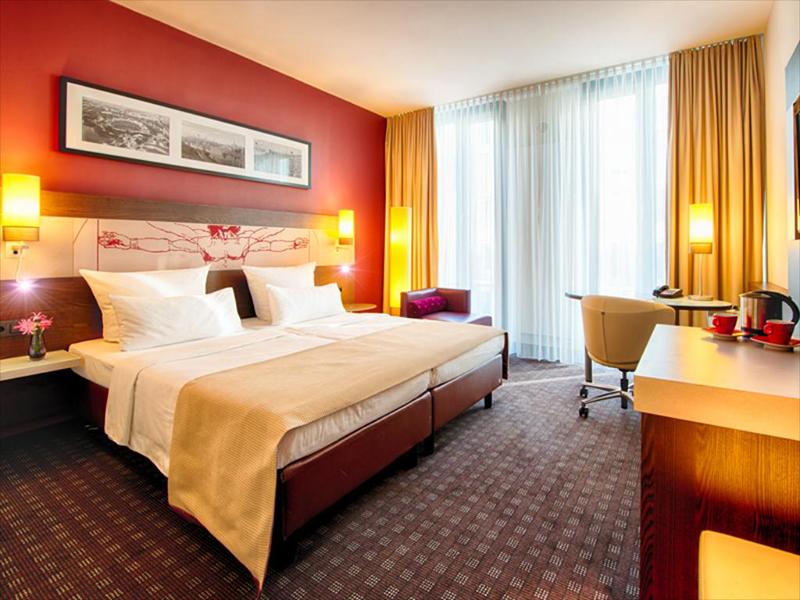 Suíte do Leonardo Royal Hotel Munich