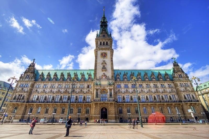 Rathaus de Hamburgo