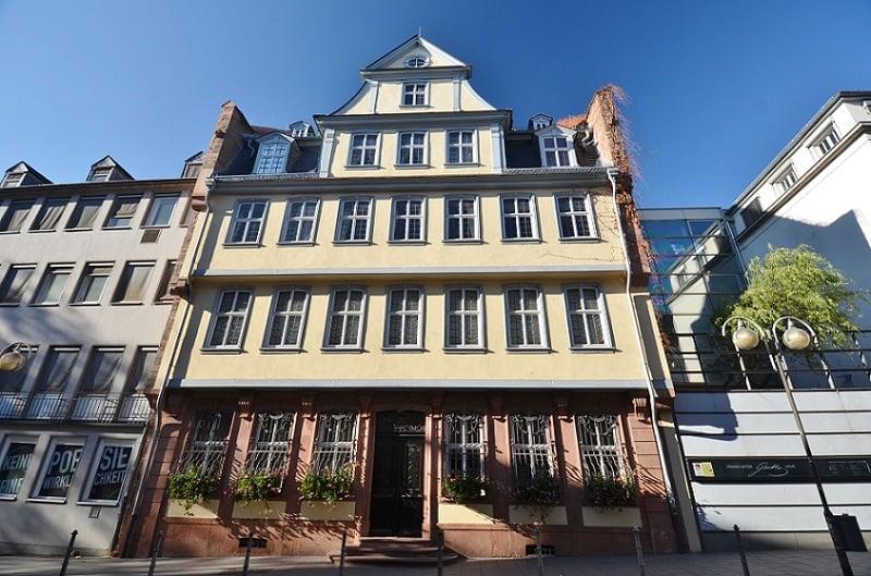 Goethe Museum em Frankfurt