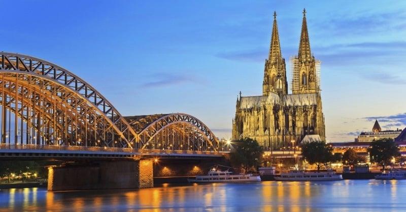 Beleza das pontes de Colônia