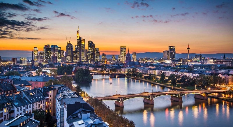 Frankfurt na Alemanha