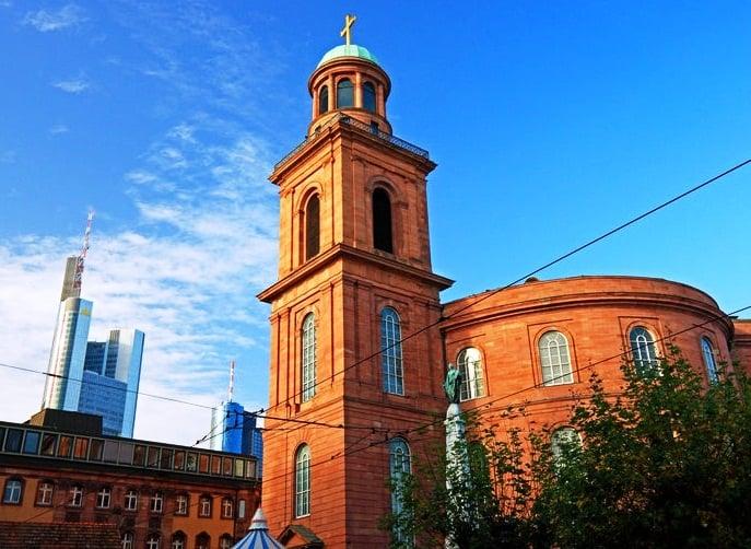Igreja Paulskirche em Frankfurt