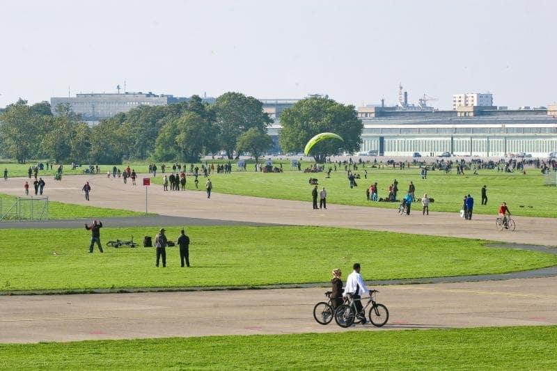 Tempelhofer Park em Berlim