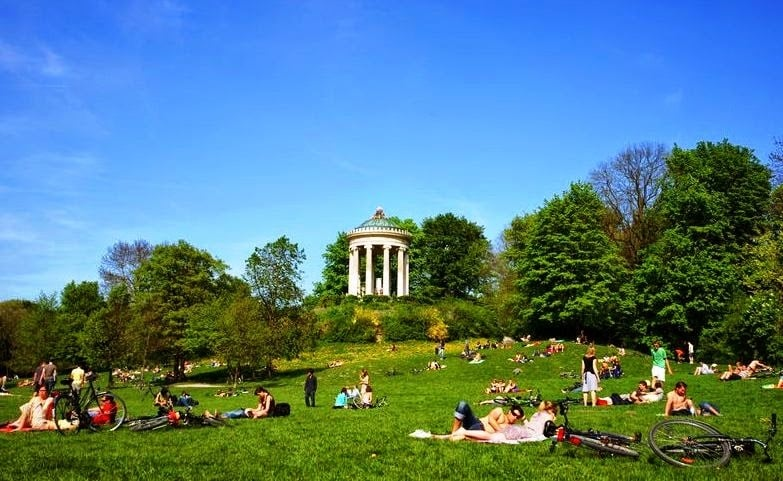 Parques em Munique