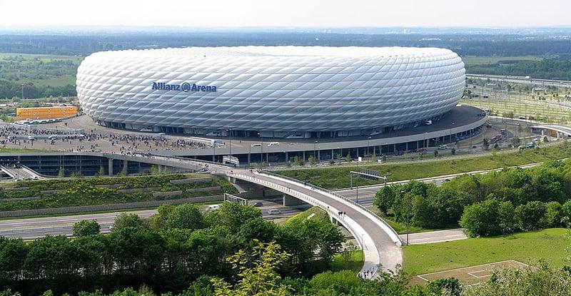Estádio Allianz Arena em Munique