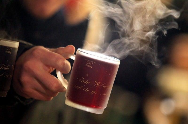 Bebidas quentes no Natal em Berlim