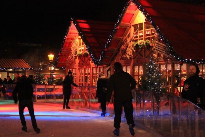 Pistas de patinação no gelo em Berlim