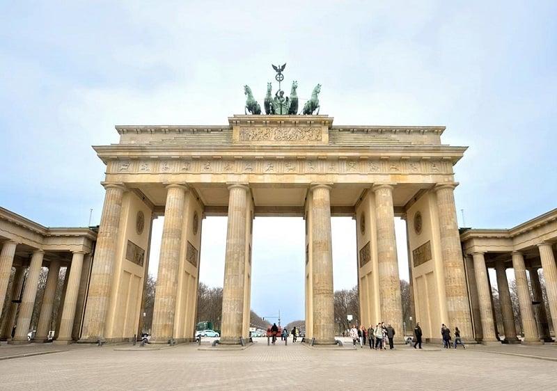 Brandenburger Tor em Berlim