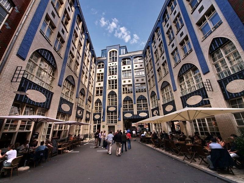 Hackesche Höfe em Berlim