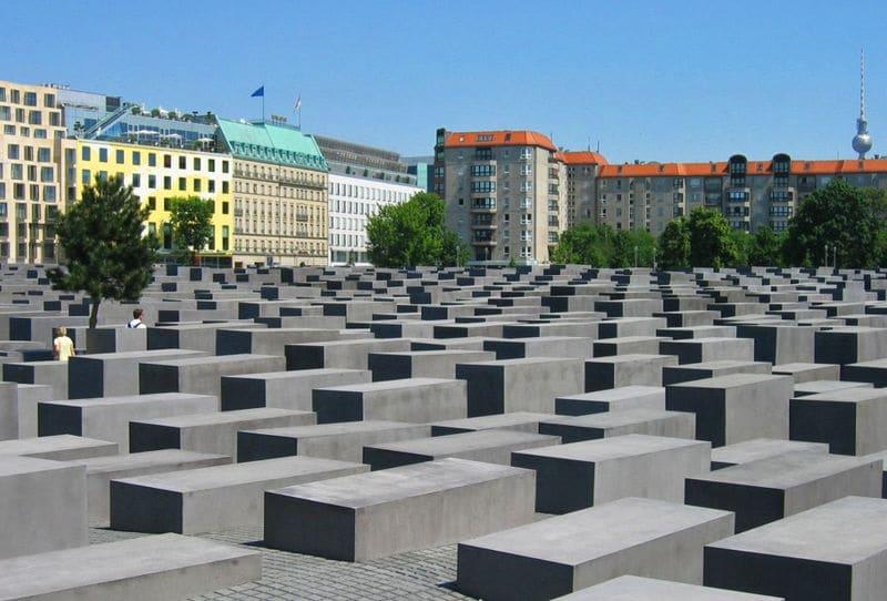 Holocaust-Denkmal em Berlim