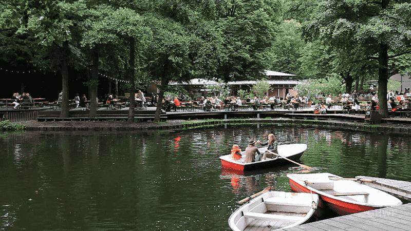 Neuer See em Berlim