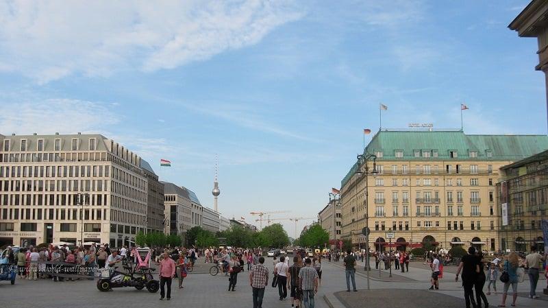 Centro de Berlim: Unter den Linden