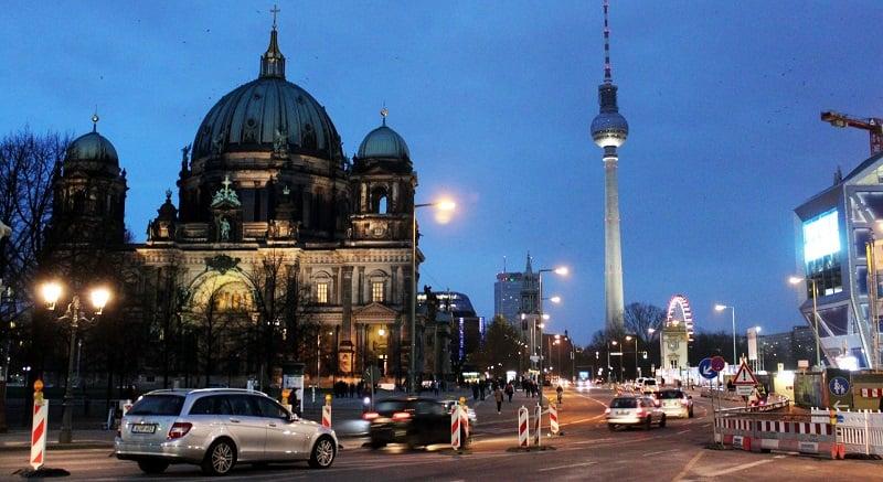 Centro de Berlim: Área da Alexanderplatz