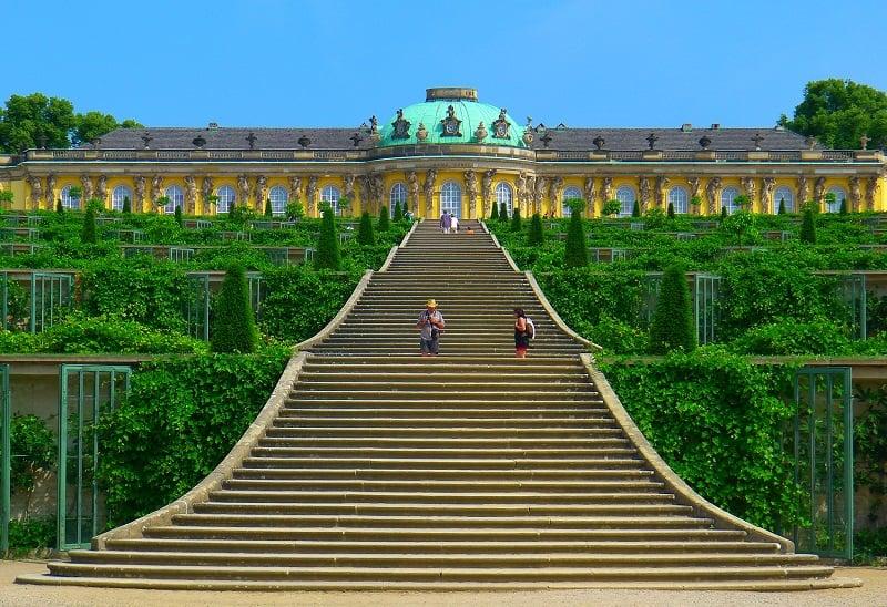 Schloss Sanssouci em Berlim