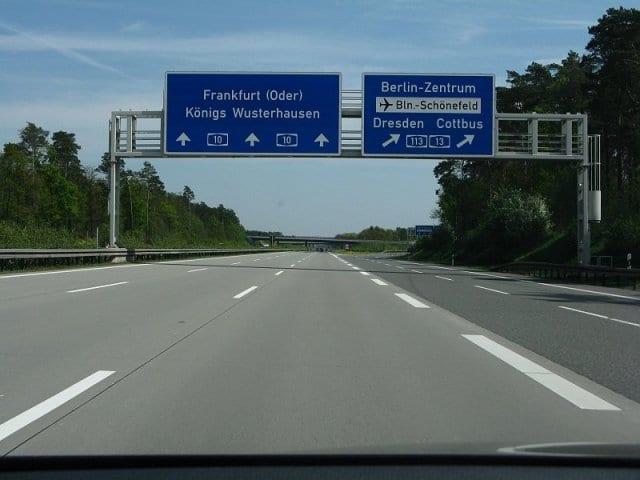 Viagem de carro de Colônia até Berlim