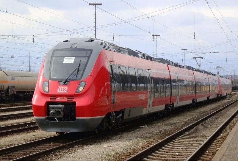 De trem de Colônia a Berlim