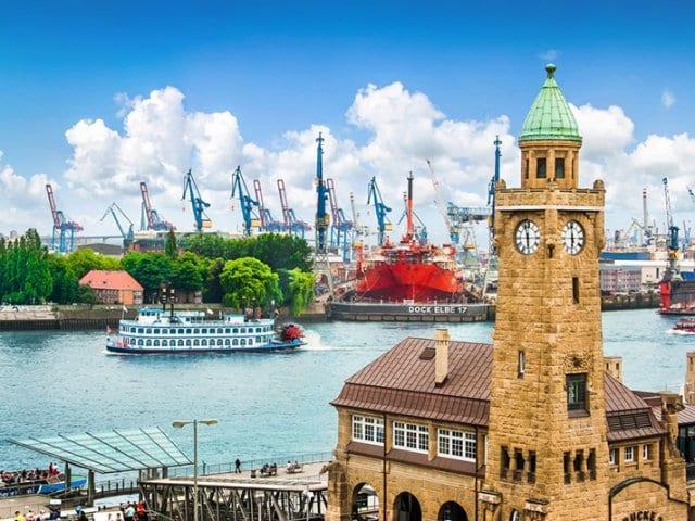 Fuso horário em Hamburgo x Brasil