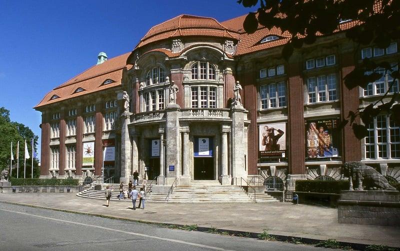 Museu Völkerkunde em Hamburgo