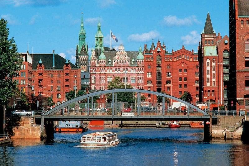 Como ir de Berlim até Hamburgo
