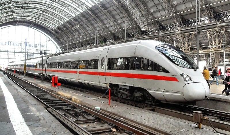 Trem de Berlim a Munique