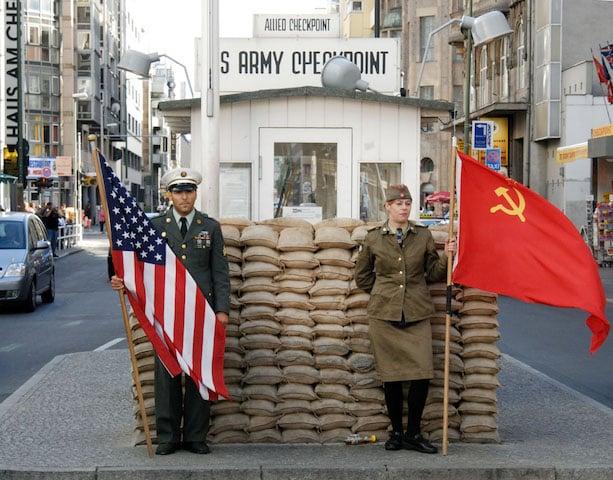 Checkpoint Charlie em Berlim