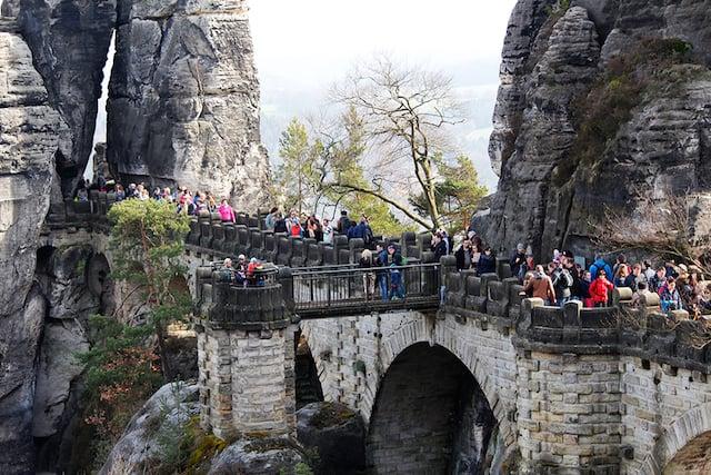 Ponte Bastei na Alemanha
