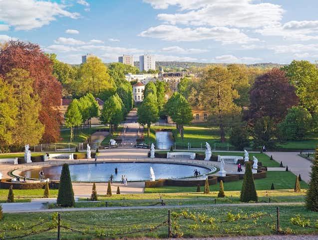 Palácio e Jardins de Sanssouci em Berlim