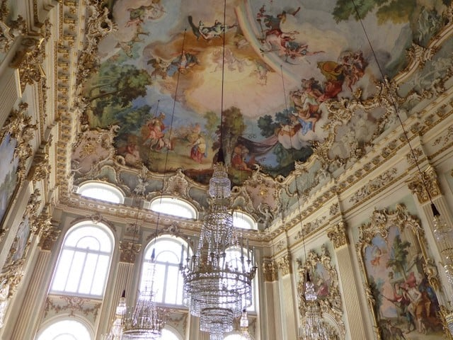 Interior do Palácio de Nymphenburg