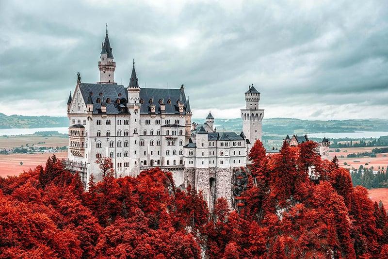 História do Castelo Neuschwanstein na Baviera