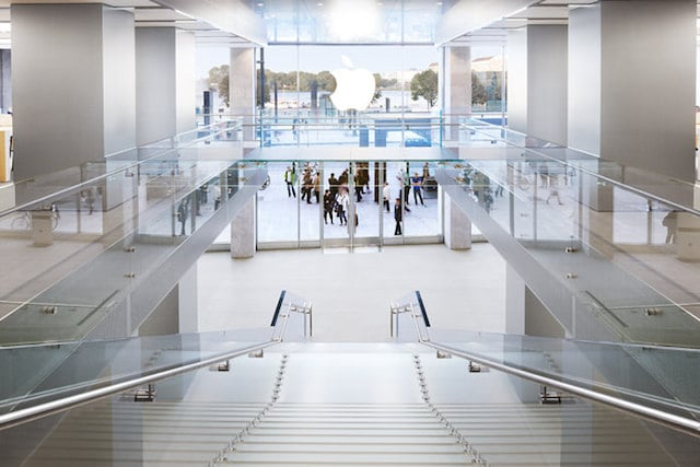 Loja Apple em Hamburgo