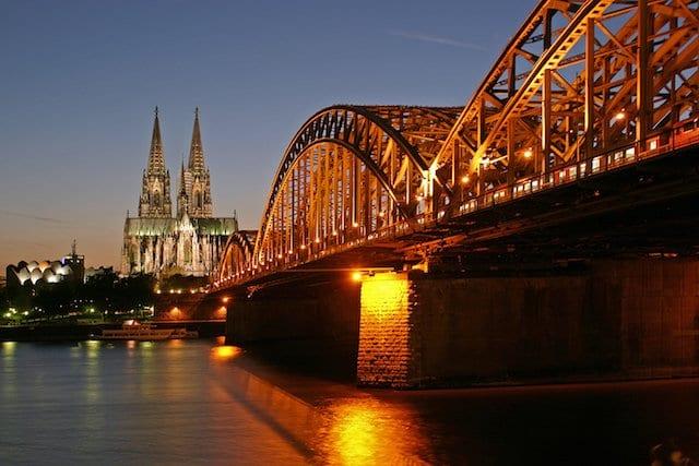 Lua de mel em Colônia
